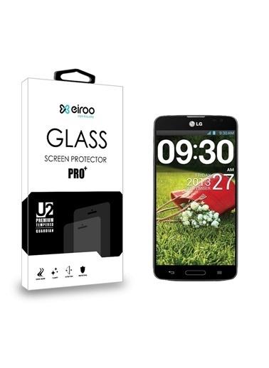 MobilCadde Eiroo LG G Pro Lite / Optimus G Pro Tempered Glass Cam Ekran Koruyucu Renkli
